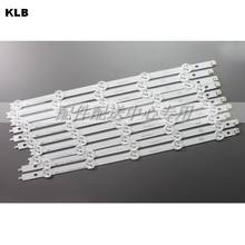 10pcs x Original Backlight LED Strips for 42'' LG 42LP360C-CA E74739 TV LED42E350PDE 6916L-1214A/1215A/1216A/1217A Set w/tape(China)