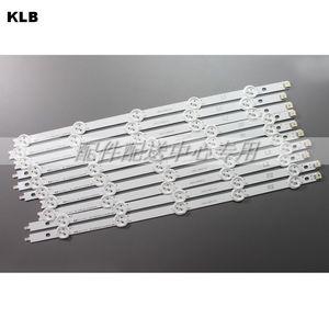 Image 1 - 10pcs x Original Backlight LED Strips for 42 LG 42LP360C CA E74739 TV LED42E350PDE 6916L 1214A/1215A/1216A/1217A Set w/tape