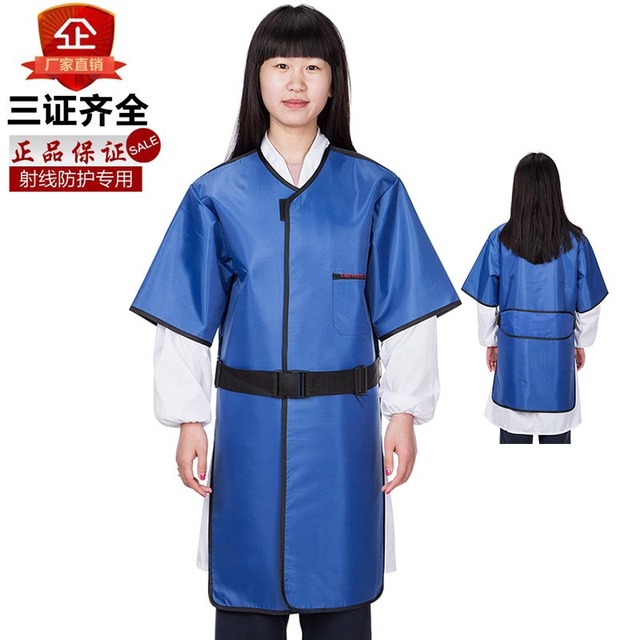 X -ray protective clothing short-sleeve lead aprons lead medical radiology x-ray radiation suits protective clothing gelcoat ct