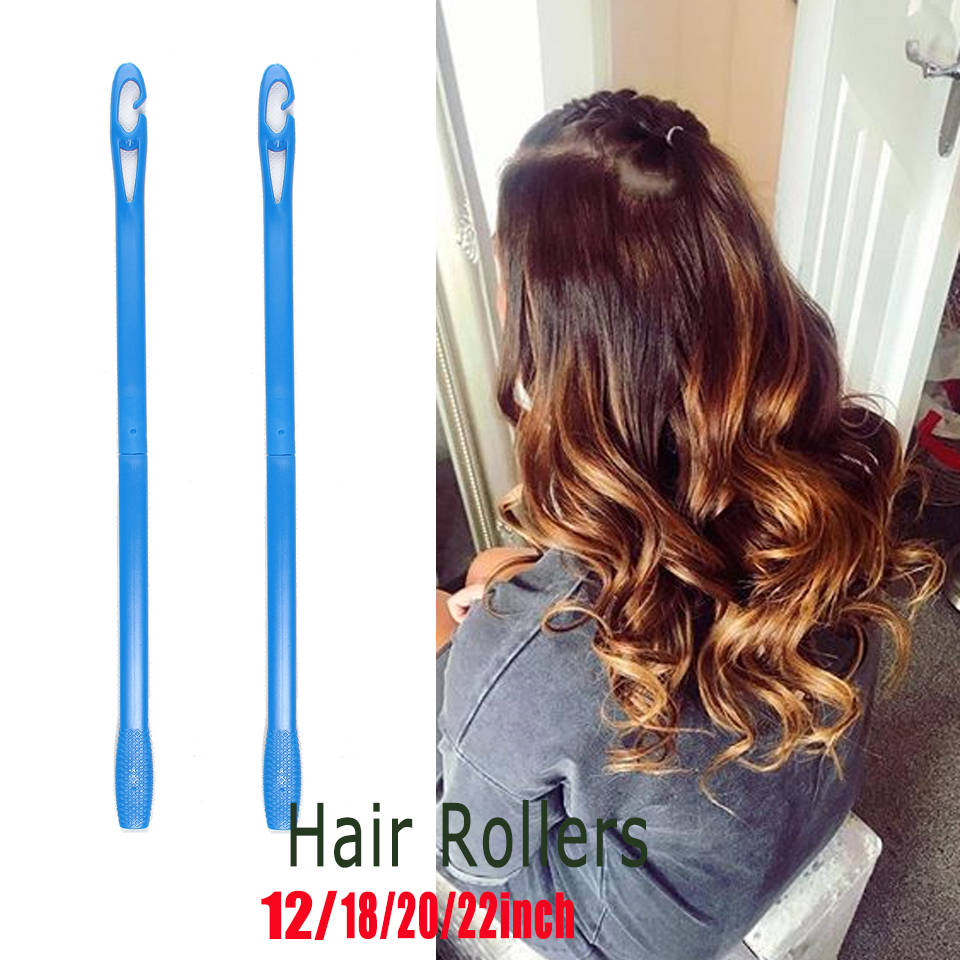 Hot Sale] 10pcs Rubber Curlers Magic Hair Roller Silicone Hair