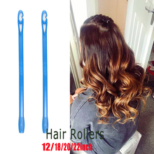 新 20 個/40 個ソフトヘアカーラーローラーカール曲げやすいローラー Diy 髪カーラーツールスタイリングプラスチック髪カーリング