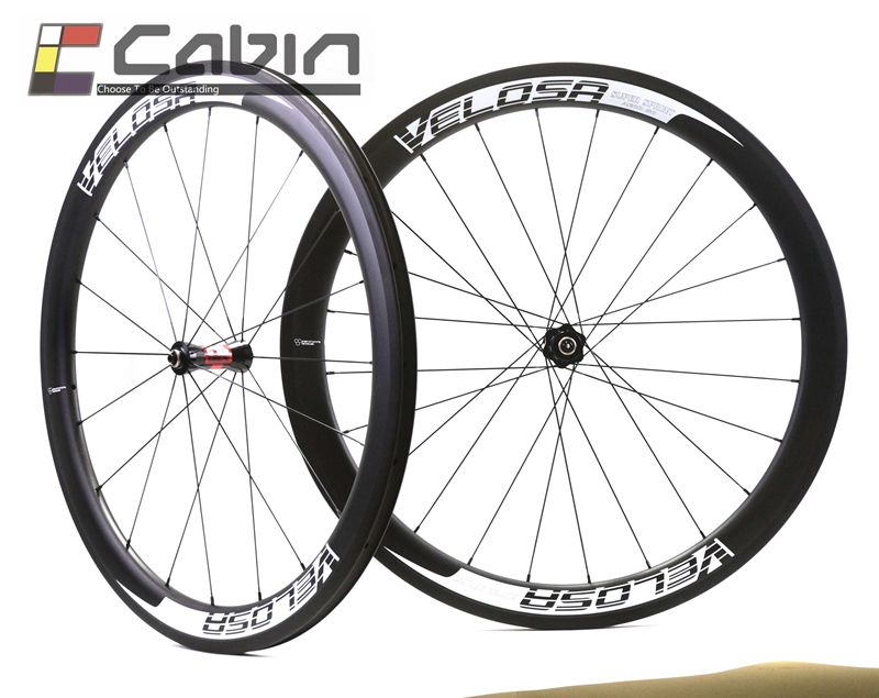 full carbon wheels, 700C road bike wheelset, 50mm clincher/tubular ceramic bearing hub 700c full carbon dimple clincher road bike wheels 50mm racing bike wheelset powerway r36 ceramic hub