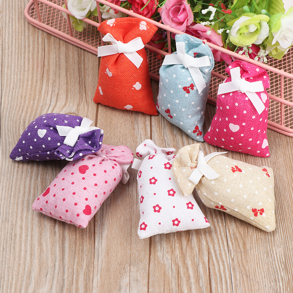 1Pcs Special Smells Lavender Rose Tulip Smell Clean Air Bag Fragrant Scent Home Living Room Closet Dresser Basket Closet Sachet