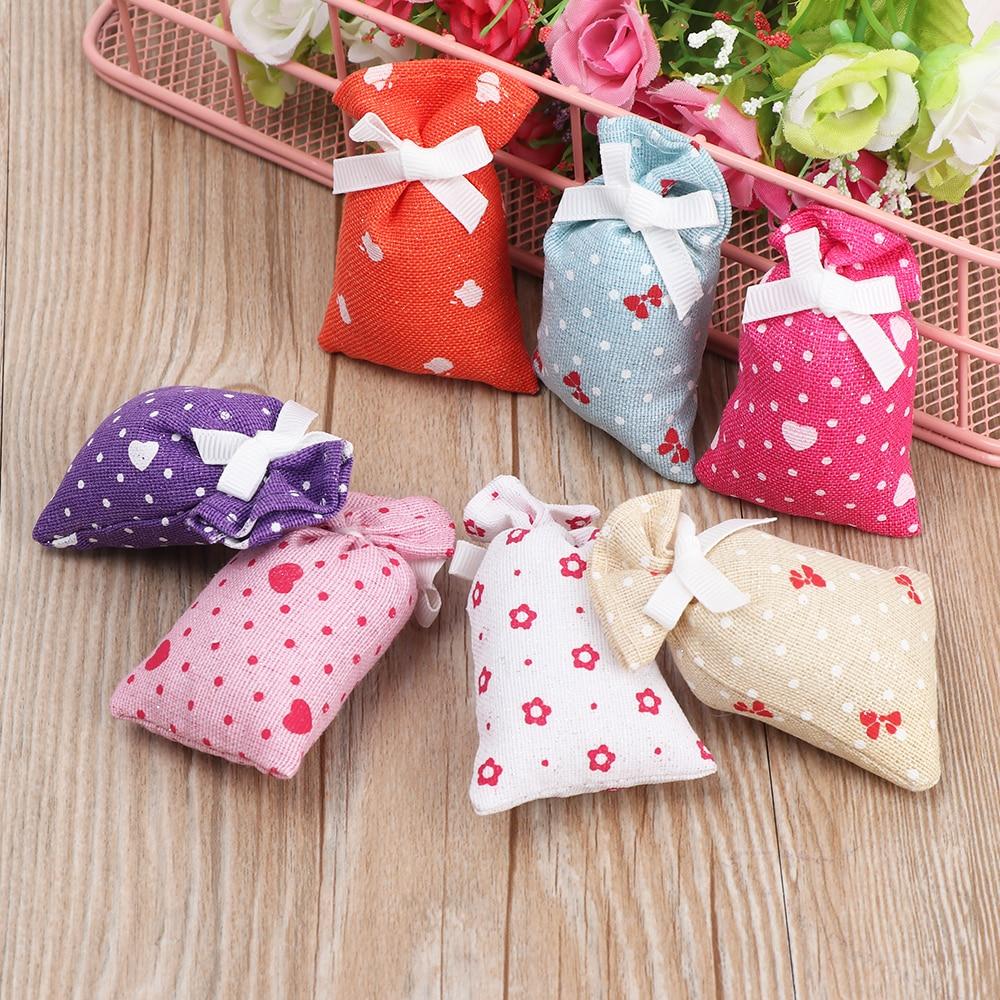 1Pcs Special Smells Lavender Rose Tulip Smell Clean Air Bag Fragrant Scent Home Living Room Closet Dresser Basket Closet Sachet