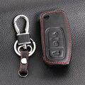 Мода дизайн автомобиля дистанционный ключ кожаный чехол для Ford Focus 2 седан хэтчбек, автомобильные аксессуары