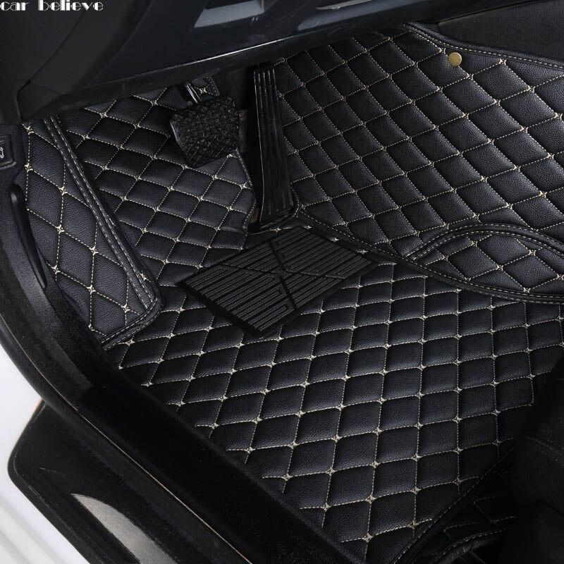 Car Believe Auto car floor Foot mat For audi a3 sportback audi a5 sportback a4 b8