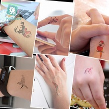 2 Pcs Waterproof Tattoo Stickers Color Small Fresh And Beautiful Personality Tattoo Stickers