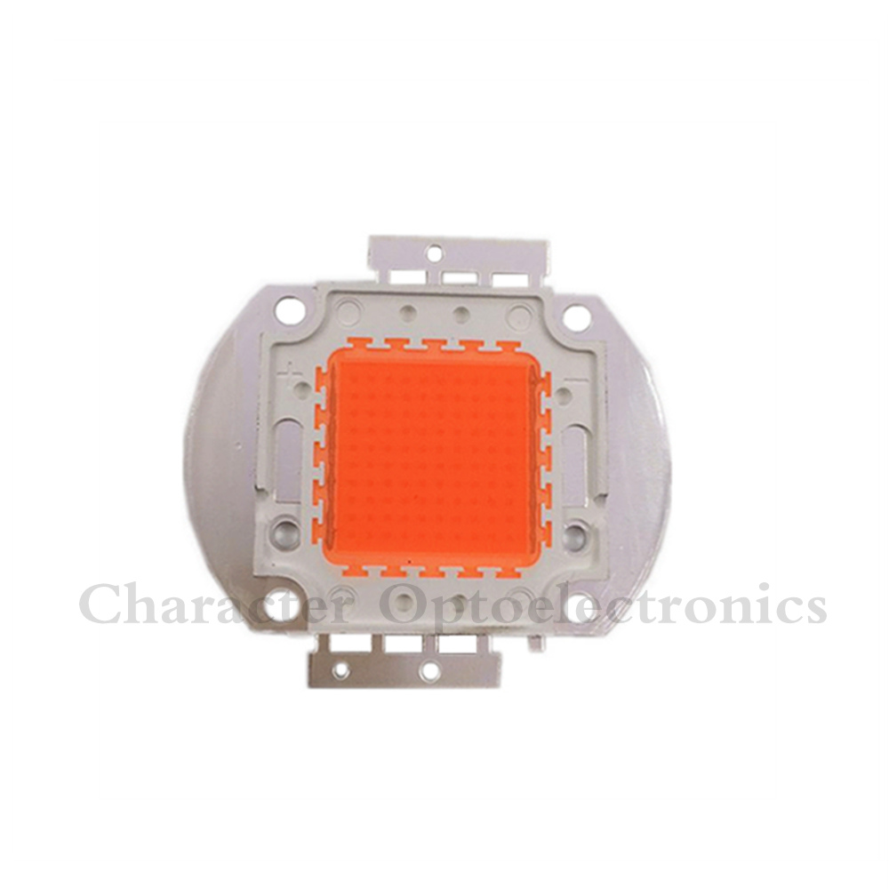 5pcs 100w led grow chip .full 380-840nm spectrum led diode 30-34v 3A led plant grow light chip for indoor plant seeding grow