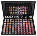 Envío de la Nueva Pro 88 Metal Color Eyeshadow Sombra de Ojos Mineral Makeup Maquillaje Paleta Set al por mayor