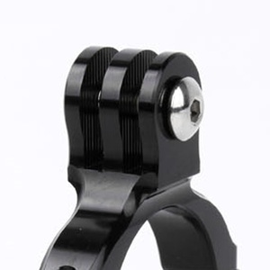 Image 5 - Aluminiowa kierownica rowerowa uchwyt zaciskowy Adapter okrągły krótki dla Gopro Hero 7/6/5/4/3 +/3/2/1