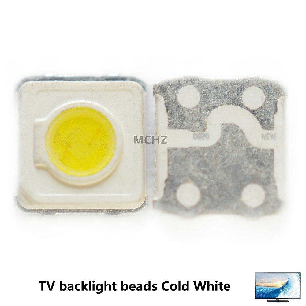 Licht & Beleuchtung Zielsetzung Großhandel 500 Pcs Samsung Led Tv Hintergrundbeleuchtung Smd 1 W 3535 3537 Kühles Weiß 3 V 300ma Für Samsung Tv Reparatur