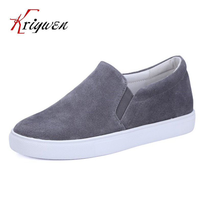 2017 Spring new arrival solid round toe loafers slip on shoes for lady flats genuine leather woman leisure pigskin women flats bosch best for concrete unc 1 4 2600116053