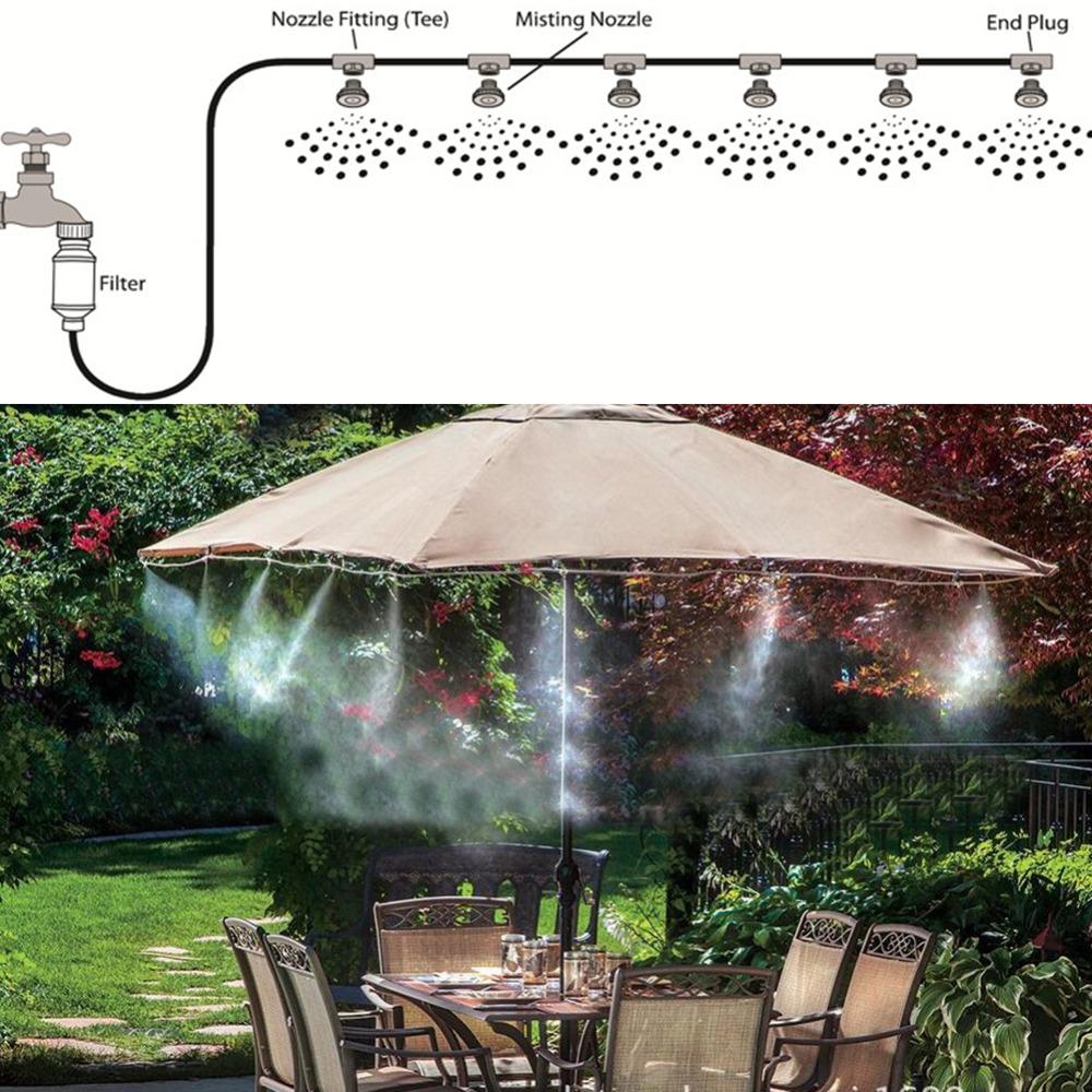 HTB1TnR0eRWD3KVjSZFsq6AqkpXa2 - Water Misting Cooling System Kit summer Sprinkler brass Nozzle Outdoor Garden