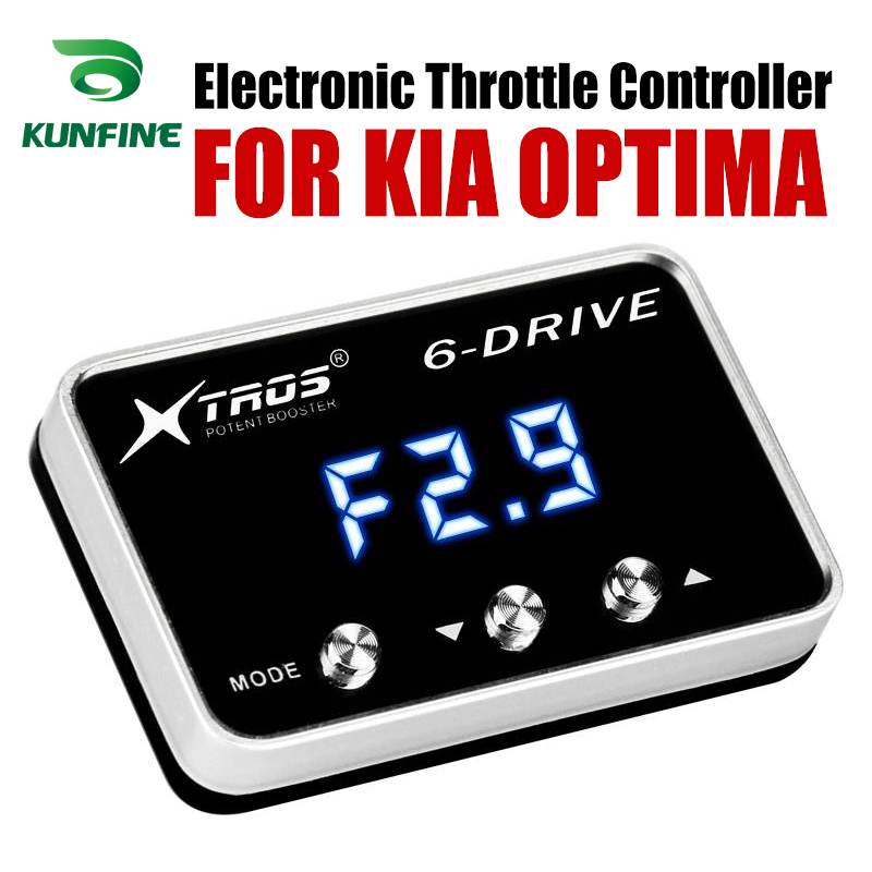 Car Electronic Throttle Controller Racing Accelerator Potent Booster For KIA OPTIMA Tuning Parts AccessoryCar Electronic Throttle Controller Racing Accelerator Potent Booster For KIA OPTIMA Tuning Parts Accessory