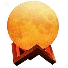 New scenery 3d moon lamp motion sensor l