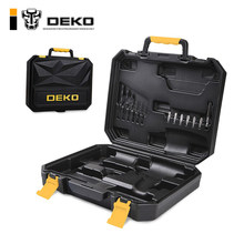 DEKO BMC Plastic Tool Case for 20V Cordless Drill GCD20DU2 not include Cordless Drill with Drill Bits Diver Bits Bits Holder(China)