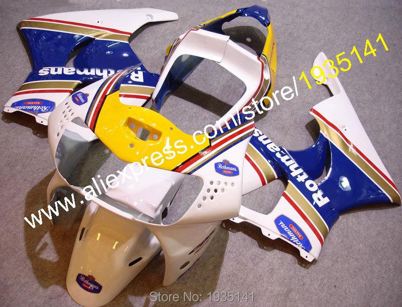 Горячие продаж,для Honda CBR900RR 919 1998 1999 Огненный ЦБР 900 РР 98 99 CBR900 CBR919 Ротманс АБС Спортбайк мотоцикл обтекатель
