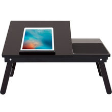 Simple Laptop Table Wooden Home Computer Desk Students Dormitory Bed Table Folding Laptop Table Multipurpose Small Writing Desk(China)