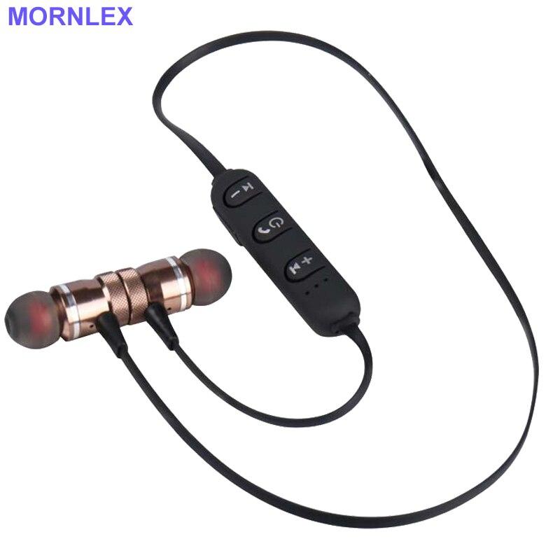 Bezdrátové sportovní sluchátka Sluchátka Magnetické HD Stereo Bluetooth v uchu s Mic a Sweatproof Lehká váha & Secure Fit pro telefon