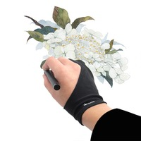 Huion Elastic Free Size Anti Fouling Glove For Graphics Tablet Pen Monitor Drawing Tablet Light Box