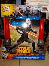 Star Wars : la Force éveille Cosplay épée Star Wars Rebels Led inquisiteur Lightsaber PVC Action Figure