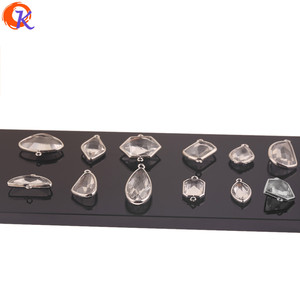 Image 3 - Cordial Design 50Pcs Jewelry Accessories/Crystal Pendant/Earrings Parts/DIY Jewelry Making/Rhodium/Hand Made/Earrings Findings