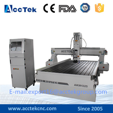 Hot selling small equipment business with stepper motor cnc router engraver cutting wooden furniture , MDF , Acrylic , Aluminum
