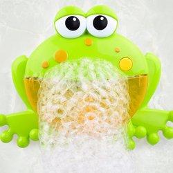 Автоматическая машина пузыря воздуходувка мультфильм Милая лягушка детская Ванна ToyMake вечерние летняя уличная игрушка пузырь генерирующа...
