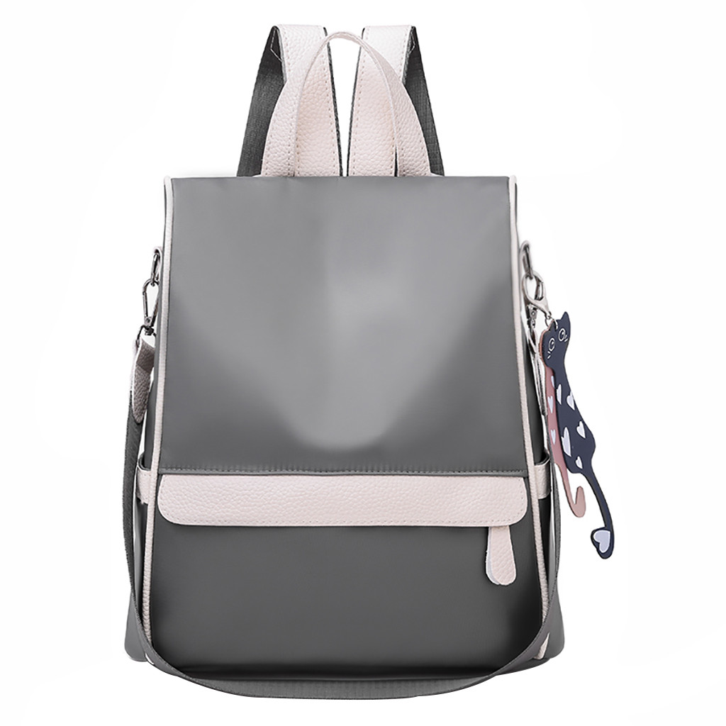 ALI shop ...  ... 32987913612 ... 4 ... New Backpack Women Oxford Multifuction Bagpack Casual Anti Theft Backpack for Teenager Girls Schoolbag 2019 mochila ...