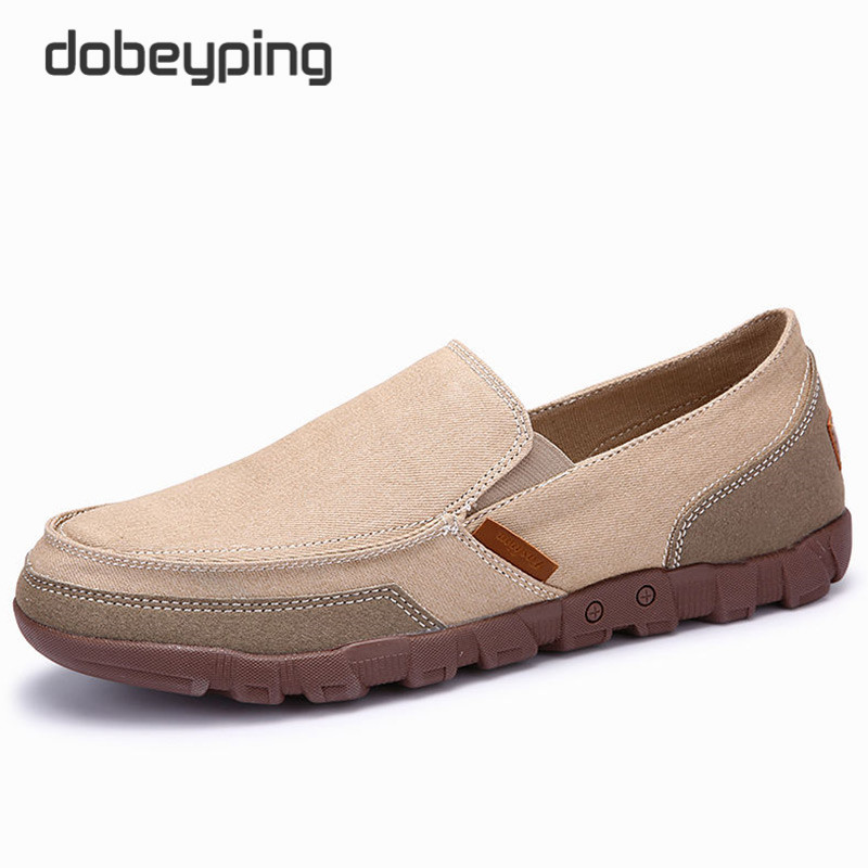 2016 Fashion Spring Autumn Men Shoes Breathable Canvas Casual Shoe Fabric Man Loafers Comfortable Ultralight Lazy Low Big Flats