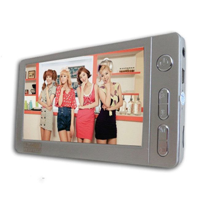 """fashion 4.3"""" Touch screen MP3 MP4 Player  FM Radio 8G long standby E-books, dictionaries MP5 Player Music, learning game machine"""