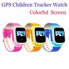 Kinder Sicherheit Wesentliche 2016 Neue Anti Verloren GPS Tracker Uhr Q60 Für Kinder SOS Notfall Für IOS & Android Smartwatch
