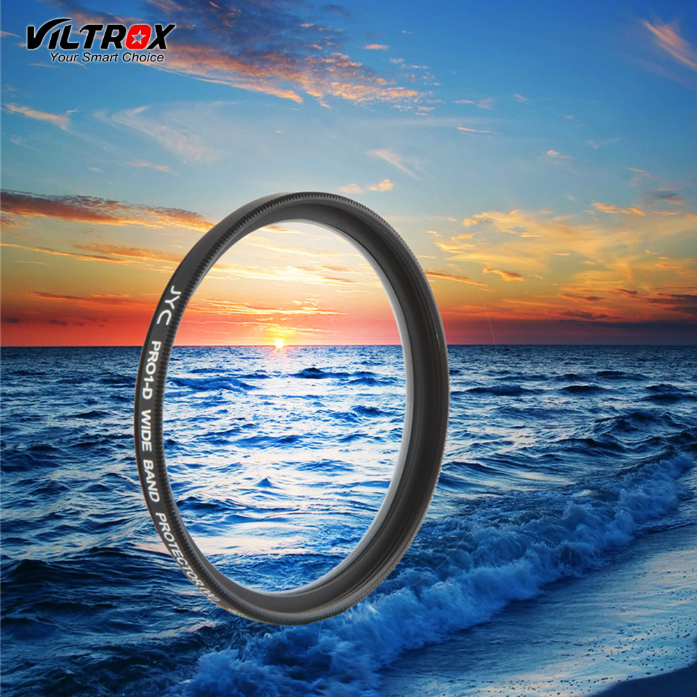 Viltrox Super Slim Optical Glass UV Filter Lens Protector 46mm 49mm 55mm 58mm 62mm 72 mm for Canon Nikon Sony Pentax camera