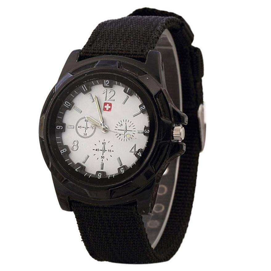 Classic Casual Sport Watches Army Style Swiss Army Knife Logo Dial Quartz Wrist Watch Reloj Deportivo #YL