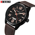 CURREN Fashion Casual Wrist Watch Men Luxury Brand Leather Strap Watches Men Quartz Army Military Wrist Watch Relogio Masculino