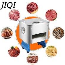 JIQI коммерческие электрические мясорубки многофункциональная машина для резки мяса для Нарезки Пищевых продуктов кубиками