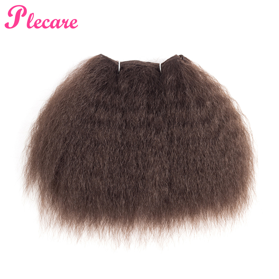 Plecare Weaving-Extensions Synthetic-Hair Curly Yaki-Style Afro Kinky Straight 100%Kanekalon