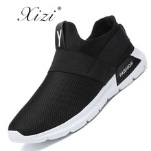 Xizi Men Shoes 2018 Summer Slip-On Sneakers Breathable Running Shoes Comfortable Men Sneakers Shoes Plus Size 39-46 Zapatillas