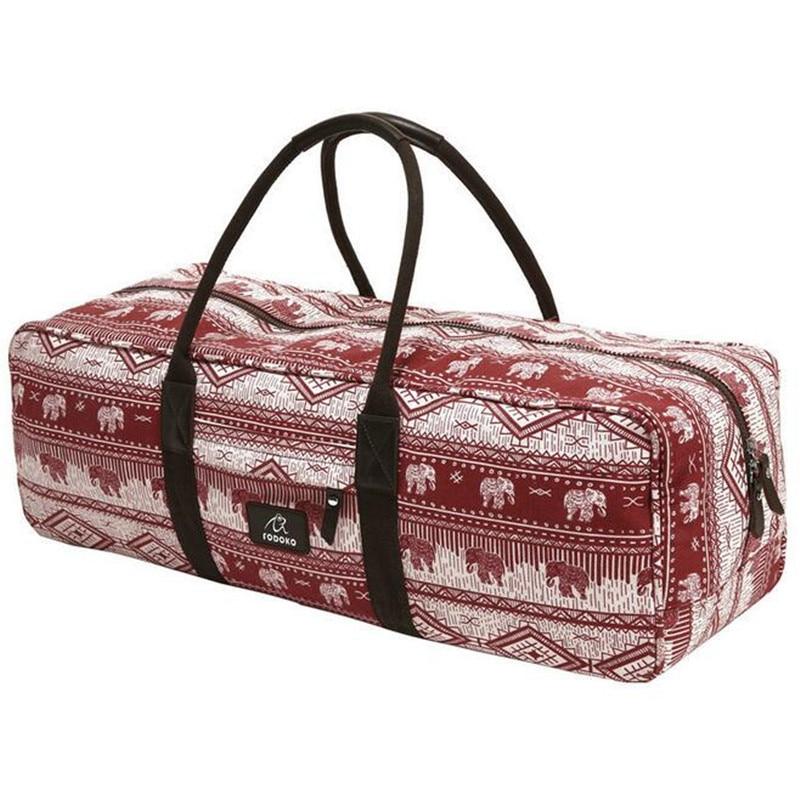 Red Elephants Gym Bag Fitness Large Capacity Waterproof Women Men Pilates Yoga Mat Bag Sports Bag Fitness Travel Bags backpack