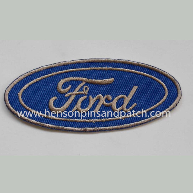Customized Cheap Embroidery Design Badges All Car Brands Iron On