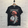 Summer T-Shirts Top Tees Crewneck Funny Happy Cool Skate Masculinas Camisetas Hombre Hip Hop 3D Printed Skull METALLICA Rappers