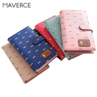 7 Colors 65 Bits Fashion High Capacity Women Card Holder Hasp Women's Card Holder Long Design Ladies Card Holder
