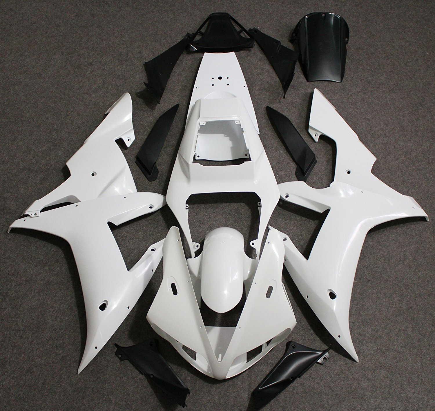 Motorcycle Full Fairing Kit Bodywork For Yamaha R1 YZF YZFR1 2002 - 2003 YZF-R1 02 03 Unpainted Fairings Injection Molding