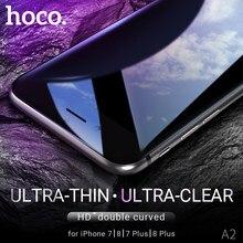 Hoco gehärtetem glas für apple iphone 7 8 plus screen protector glas film 9h härte scratch schutz anti fingerprint klar