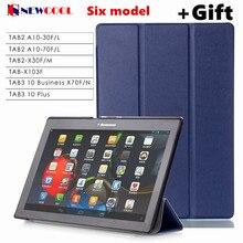 X70F TB3-X70L A10-70F Tab3 10 además de negocios/N PU funda de piel Para Lenovo TAB 2 Tab2 X30 X30M A10-30f Tab-X103f 10.1 caja de la tableta