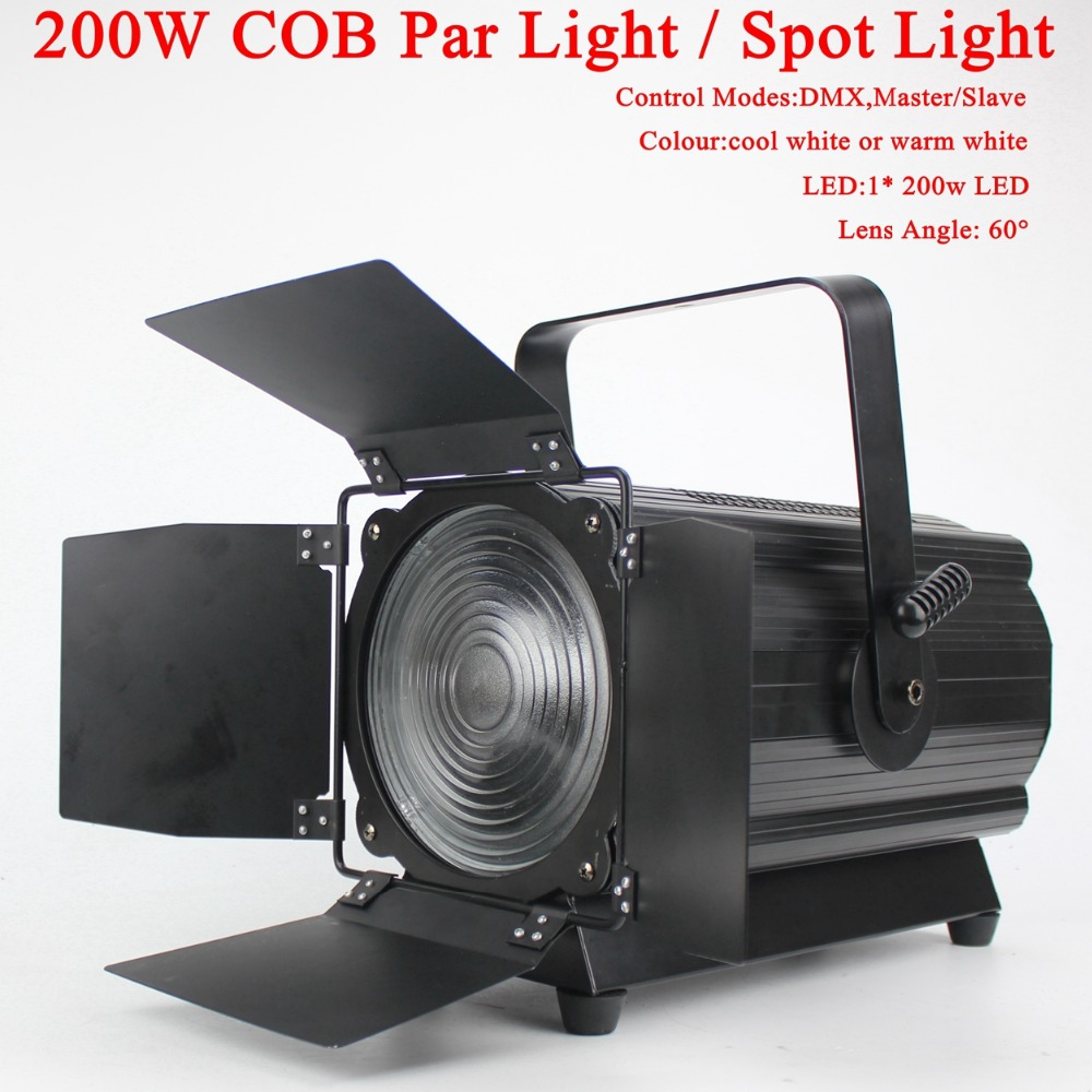 2018 NEW COB 200W LED Par Light High power LED energy efficient for Disco DJ Spot Light Party stage light show plaza light stage blinder auditoria light ww plus cw 2in1 cob lamp 200w spliced type for stage