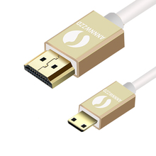 HDMI TO MINI C Type Plug High speed Gold Plated Male-Male Cable 1.4 Version 1080p 3D for TABLETS DVD