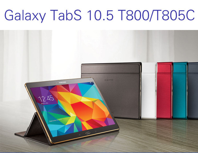 Original Business Case for Samsung Galaxy Tab S 10.5 T800 T805, Business Stand Tablet Leather Case Cover
