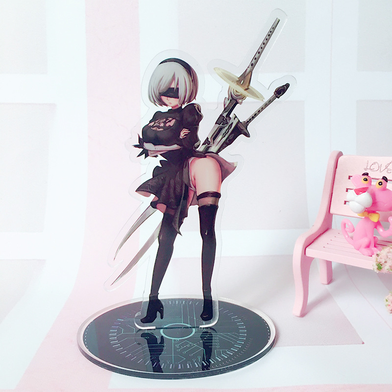 Game NieR: Automata 2B 9S Acrylic Stand Doll YoRHa Type B S Collection Model NieR Character Action Figure