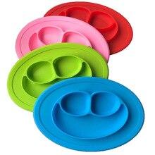 Детское питание плиты силиконовые Материал для малышей фрукты лоток Блюда детская Snack чаша ребенок посуда блюда плиты